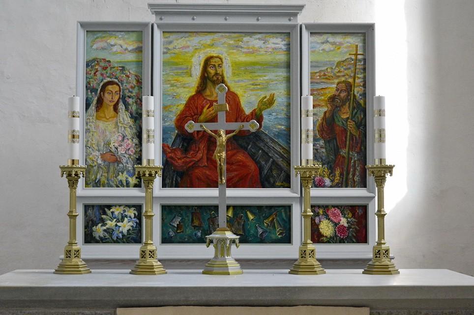 6088 kuni 6092, Ü.Jukk, 7.05.2014; Vigala esemed Märjamaa kirikus