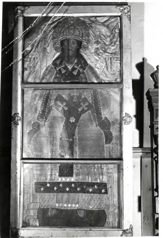 Ikoon «Kristus Suur Ülempreester», 18. saj. (tempera, puit). Foto: A. Sillasoo, 1978.