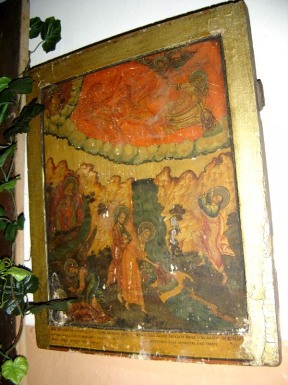 """Ikoon """"Prohvet Eelija"""" , 19.saj. II pool (tempera, puit) Foto: S.Simson 20.08.2006"""
