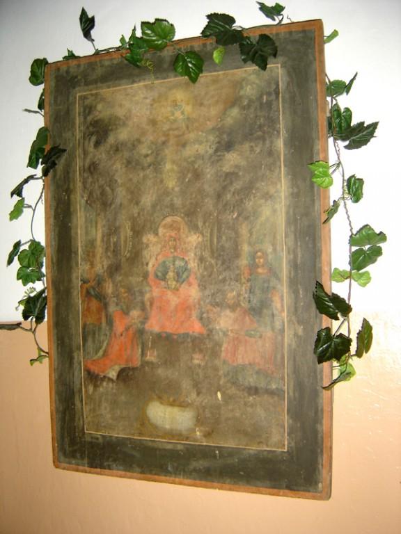 """Ikoon """"Kuningate kummardamine"""" (""""Jumalaema ülistus""""). Foto: S.Simson 20.08.2006"""