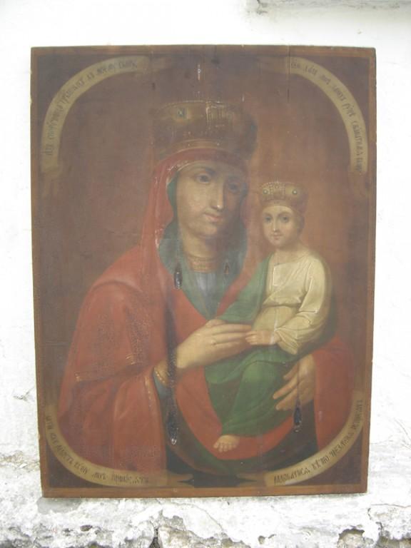 """Ikoon """"Jumalaema Kristuslapsega"""" Foto: S.Simson 20.08.2006"""