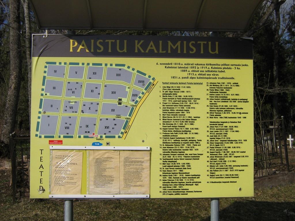kalmistu plaan  Autor A.Kivi  Kuupäev  04.04.2008