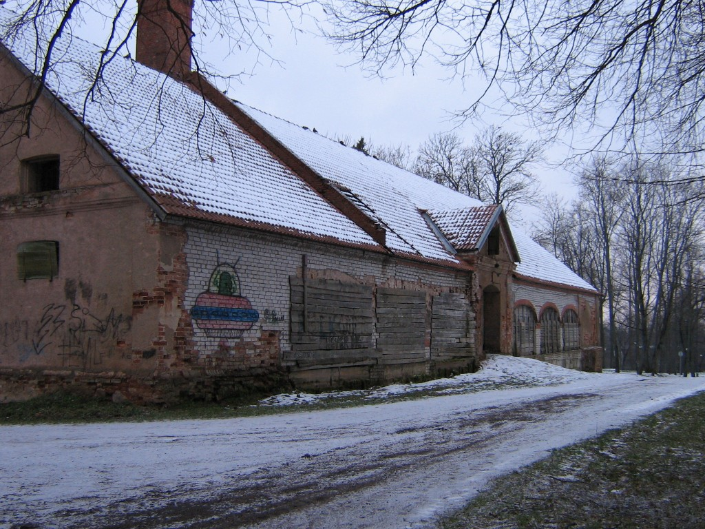 Viljandi mõisa ait Autor A.Kivi  Kuupäev  29.11.2005