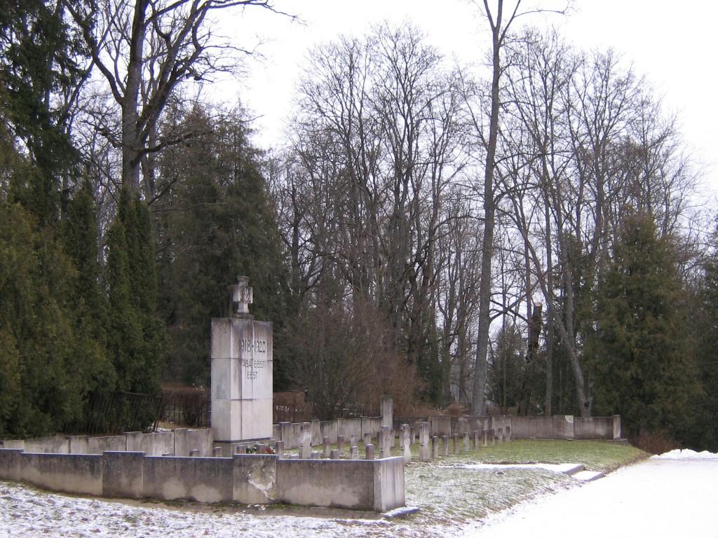 Vabadussõjas hukkunute matmispaik Autor A.Kivi  Kuupäev  20.02.2008