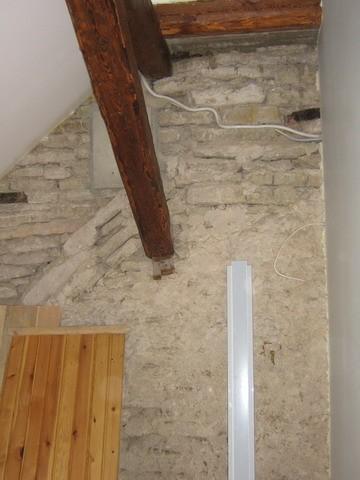 """Restaureeritav sein /NÃ""""HA ERINEVATEL AEGADEL EHITATUD SEINAOSAD.  Autor Anne Kaldam  Kuupäev  15.04.2008"""