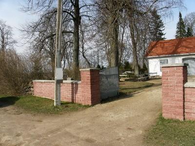 Kalmistu peavärav  Ülle Jukk  16.04.2008