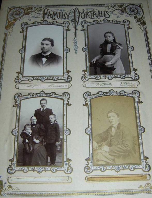 Piibel. New York, 1890 (trükis, nahkköide, metallpanused). Fotod. Foto: S.Simson 02.10.2005