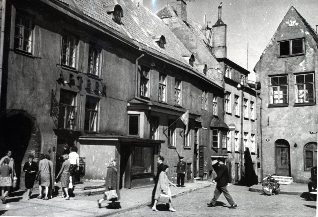 Raeapteek 1964. Foto TKVA arhiiv