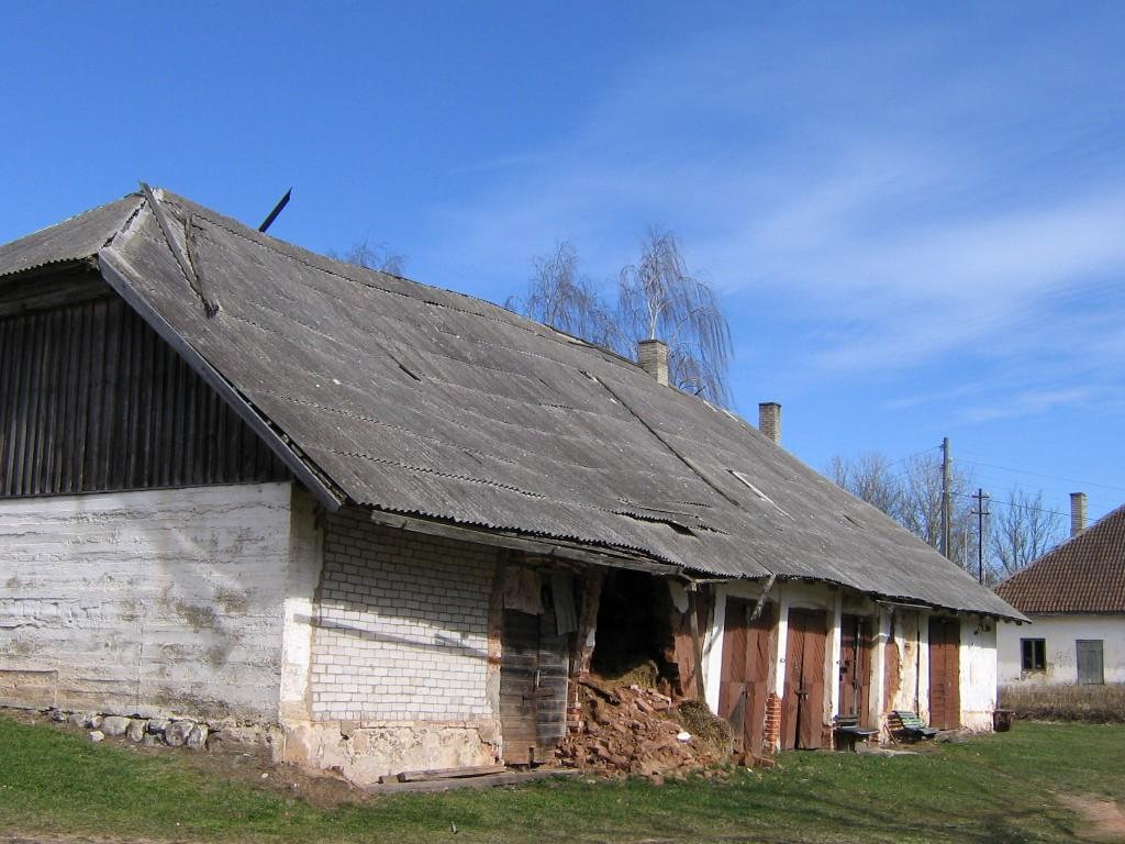 Uue-Suislepa mõisa tall-tõllakuur Autor A.Kivi  Kuupäev  13.04.2007