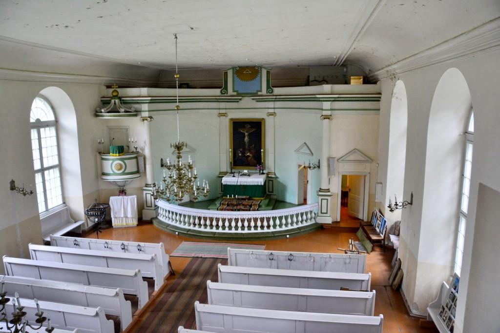 Võru Katariina kirik, sisevaade O-suunas, 14139, Ü. Jukk, 19.08.2014