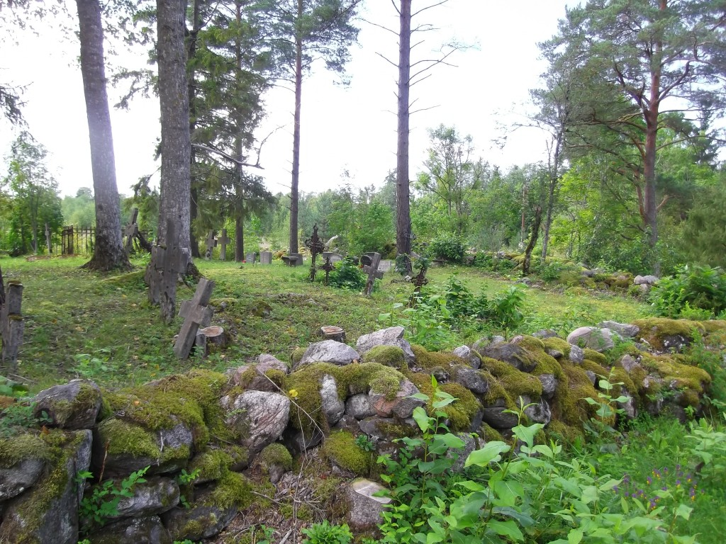 Kalmistu põhjaosa. Foto Silja Konsa 02.09.2014