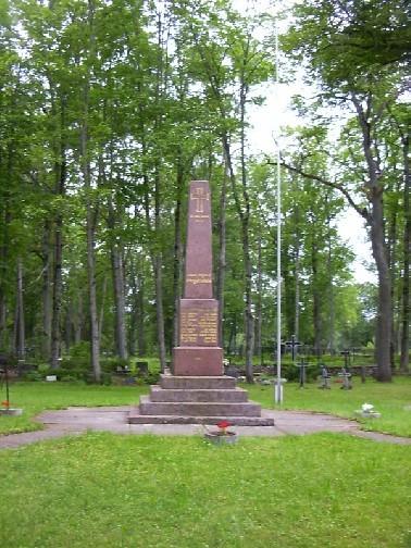 Vabadussõja mälestussammas    Autor Rita Peirumaa    Kuupäev  27.07.2004