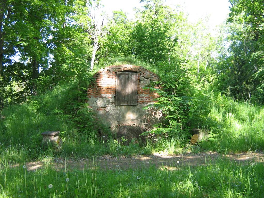 Vaade Õisu mõisa keldrile Autor Anne Kivi  Kuupäev  05.06.2008