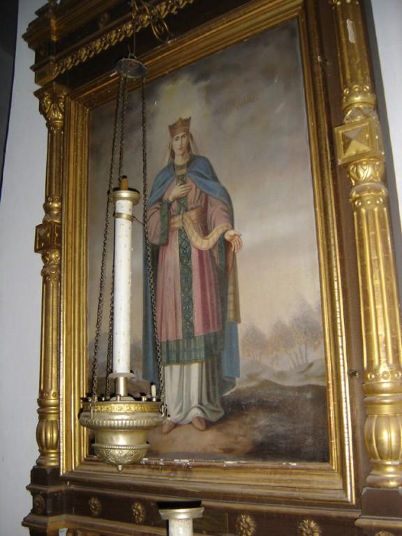 """Ikoon """"Keisrinna Aleksandra"""" raamistuses. U. 1896 Foto: S.Simson 26.10.2006"""