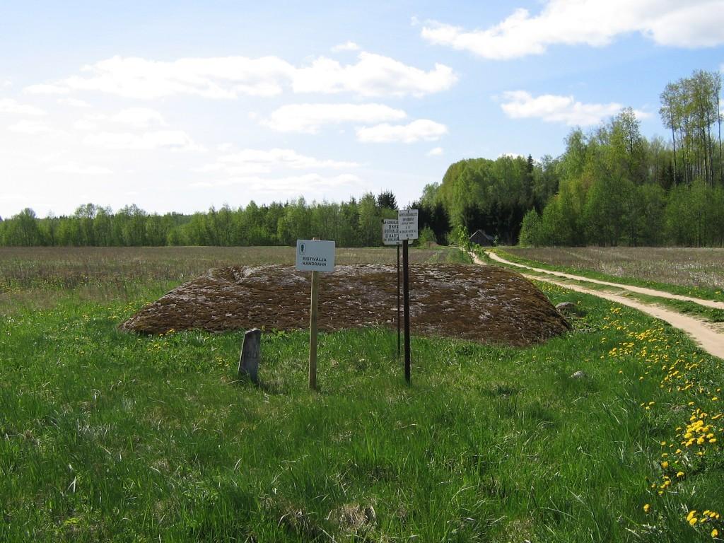 """Ohvrikivi """"Ristivälja suurkivi"""". Foto: Anne Kivi, 06.05.2008."""