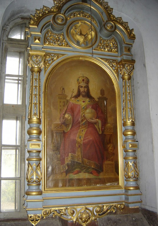 """Ikoon """"Kristus Kõigevalitseja aujärjel"""". Foto: S.Simson 26.10.2006"""