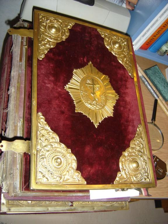 Evangeelium. Foto: S.Simson 22.11.2006