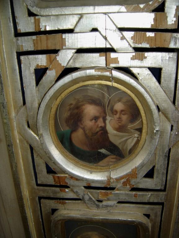 "Ikoon "" Evangelist Matteus"" kuninglikel väravatel. Foto: S.Simson 30.04.2007"