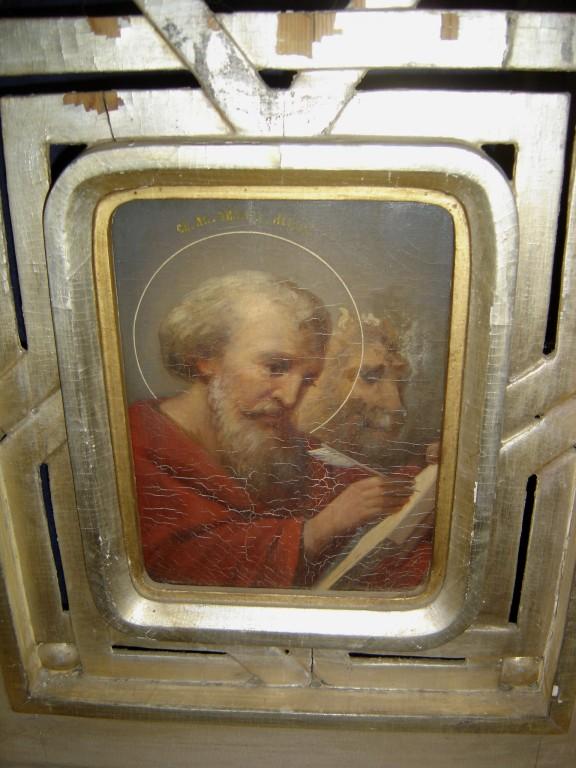 """Ikoon """" Evangelist Markus"""" kuninglikel väravatel. Foto: S.Simson 30.04.2007"""