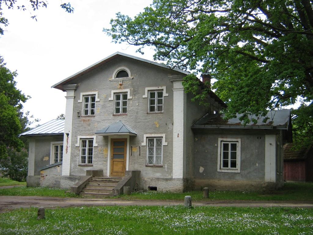 Olustvere mõisa ametnikemaja Autor Anne Kivi  Kuupäev  13.06.2008