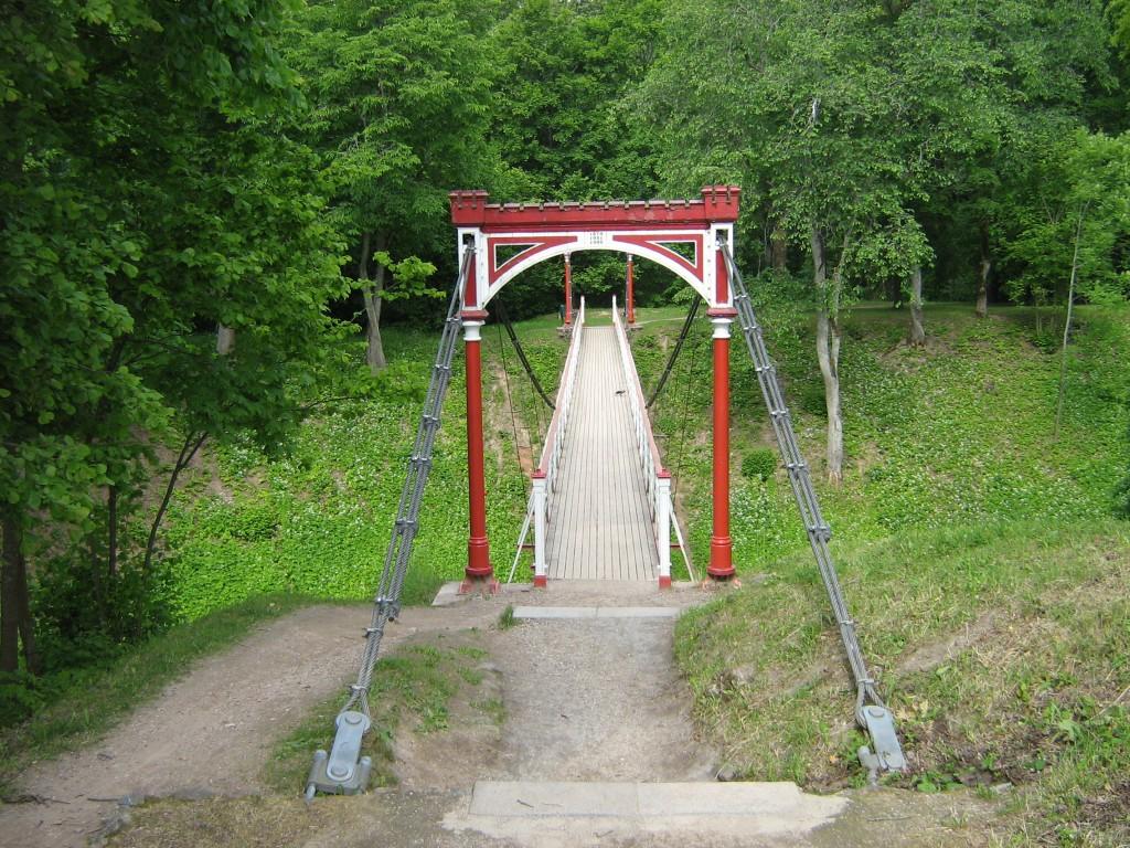 Viljandi linnusepargi rippsild Autor Anne Kivi  Kuupäev  17.06.2008