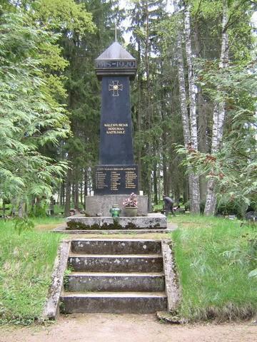 Vabadussõja mälestussammas, reg. 27123. Vaade läänest. Foto: ANNE KALDAM, kuupäev 16.05.2008