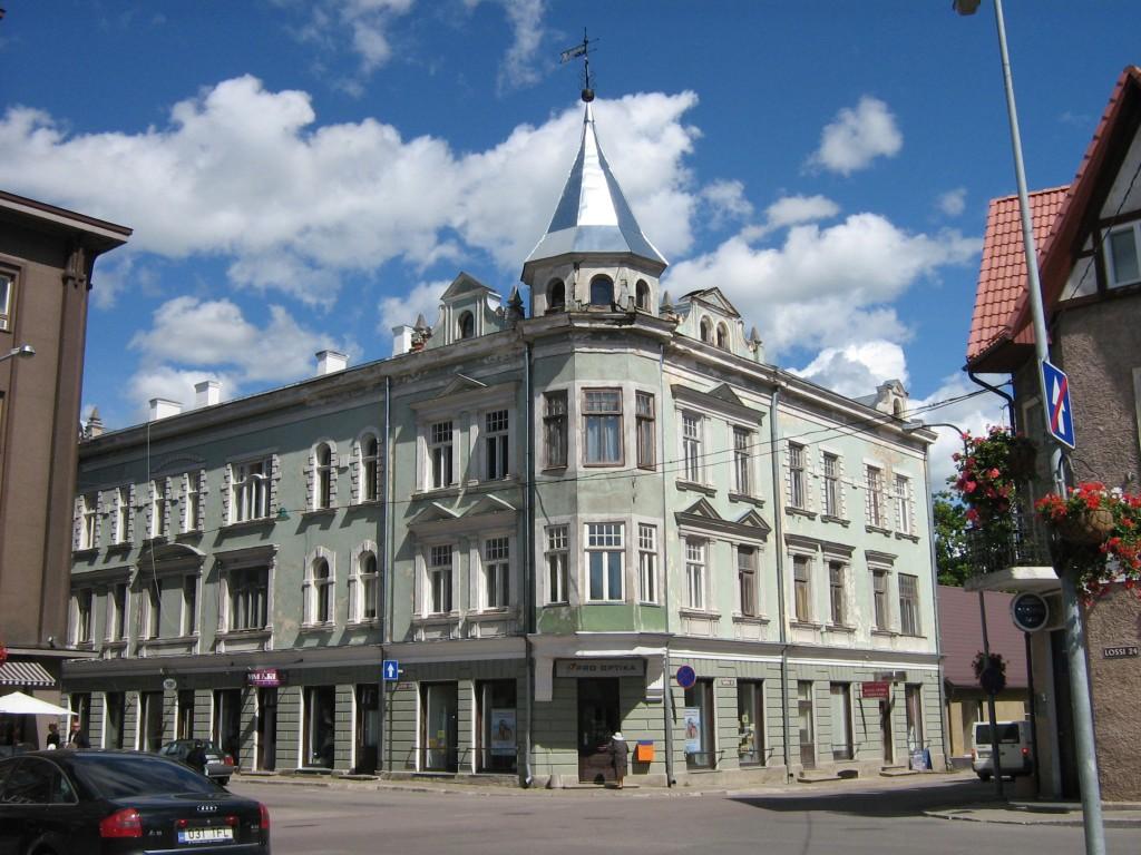 Elamu-ärihoone Lossi tn.26 Autor Anne Kivi  Kuupäev  26.06.2008