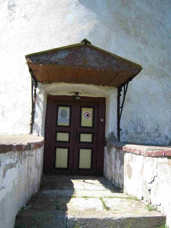 Tuletorni uks. Foto: Rita Peirumaa. Kuupäev  10.06.2008