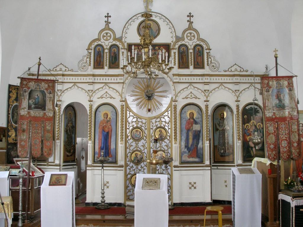 Nõo kiriku ikonostaas, Ü.Jukk, 30.03.2007
