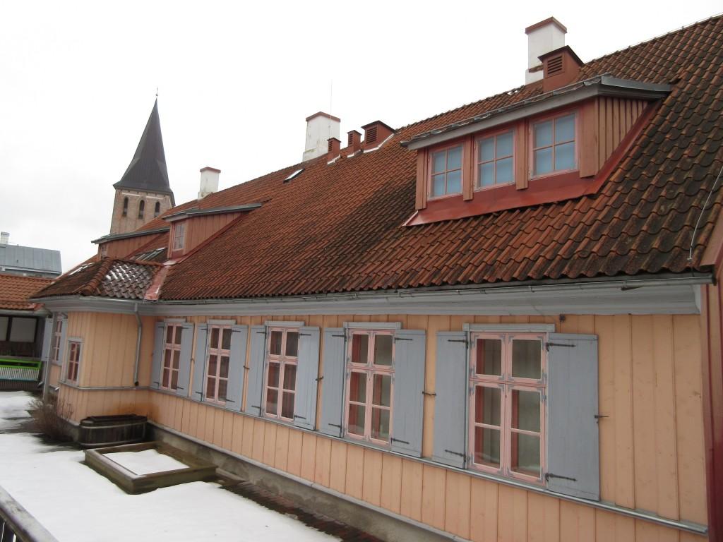 Lutsu 8 hoovivaade. Foto Egle Tamm, 13.02.2015.