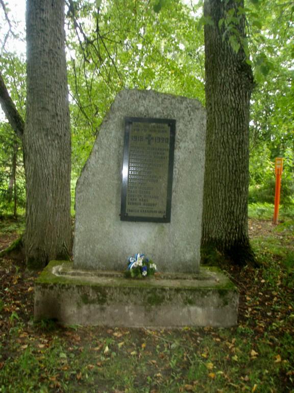 Vabadussõja mälestusmärk  Autor Sille Raidvere  Kuupäev  26.08.2008