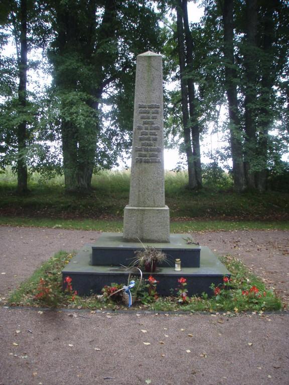 Kõnnu vabadussõja monument  Autor Sille Raidvere  Kuupäev  03.09.2008