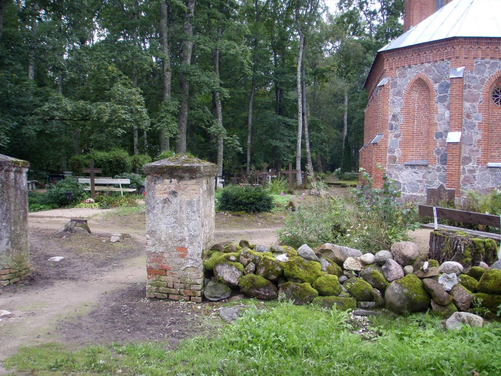 Kalmistu  Autor Sille Raidvere  Kuupäev  03.09.2008