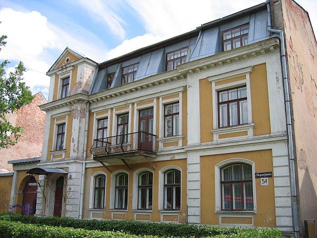 Kuperjanovi 54 tänavafassaad  Autor Egle Tamm  Kuupäev  30.06.2008