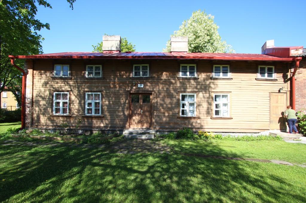 8285 Balti Puuvillavabriku hobusetall, 1900. a. Vaade hoovist. 22.05.2015