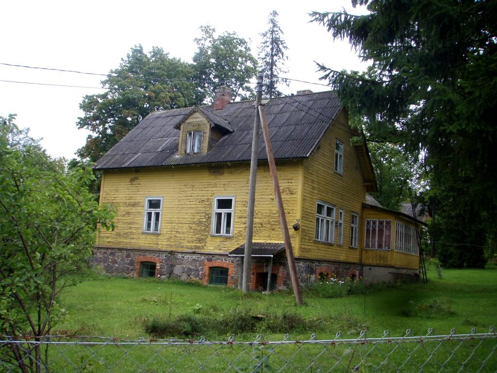 Valitsejamaja lõunakülg  Autor Sille Raidvere  Kuupäev  04.09.2008