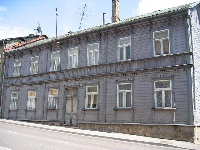 Narva mnt 121 tänavafassaad  Autor Egle Tamm  Kuupäev  19.06.2008