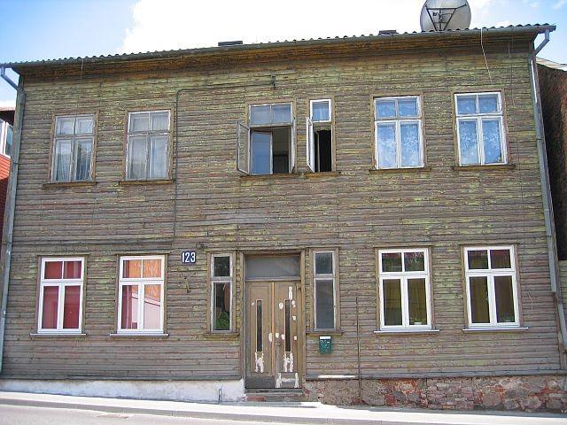Narva mnt 123 tänavafassaad  Autor Egle Tamm  Kuupäev  19.06.2008