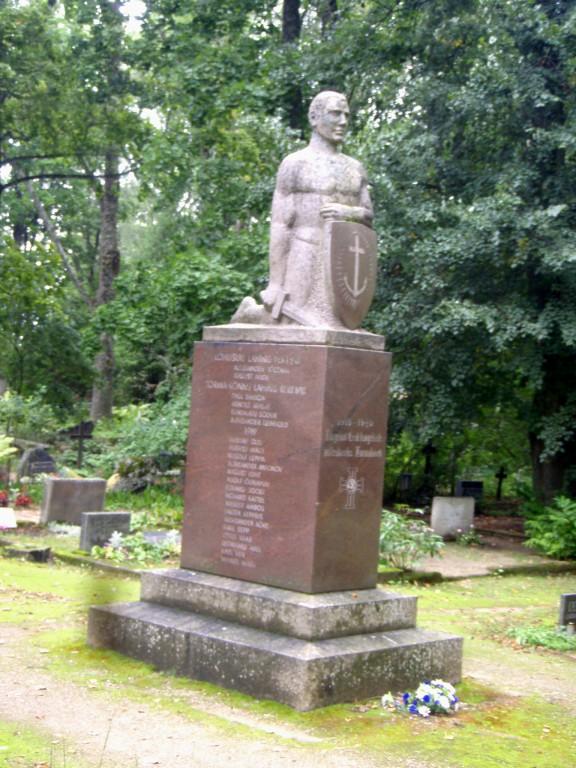 Vabadussõja monument  Autor Sille Raidvere  Kuupäev  03.09.2008