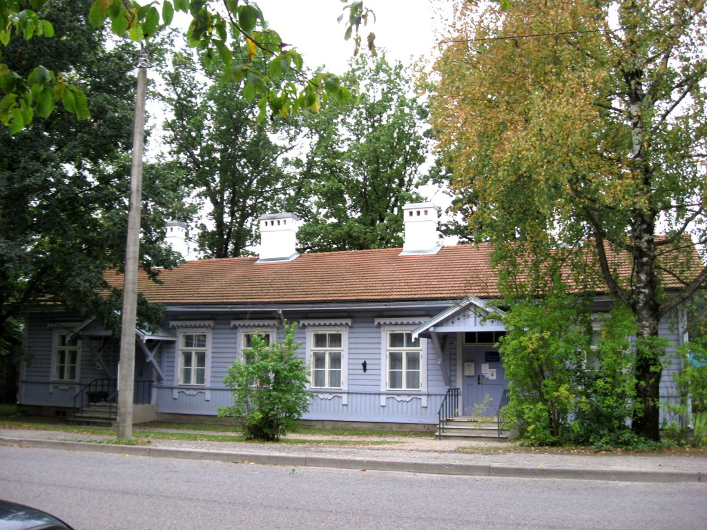 Betti Alveri majamuuseum  Autor Sille Raidvere  Kuupäev  20.09.2008