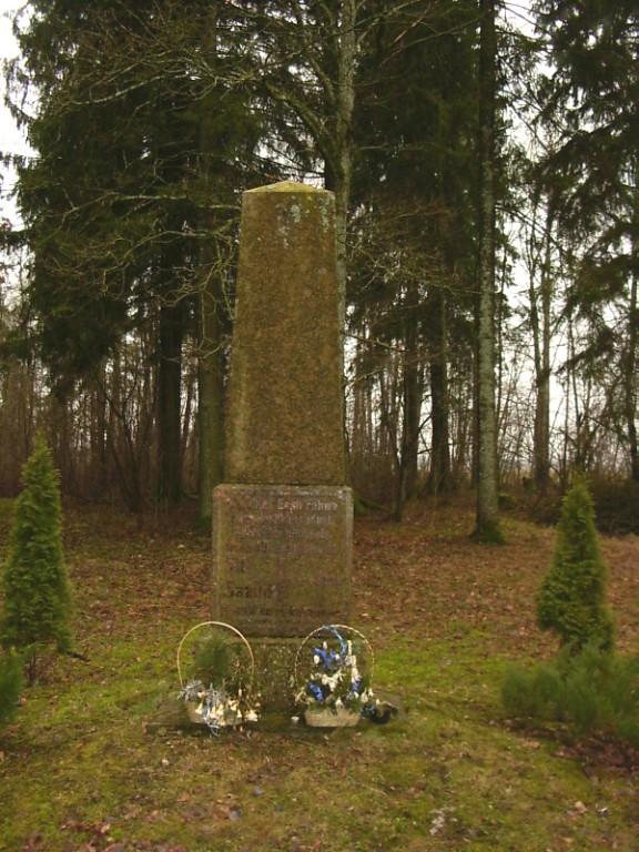 Vabadussõja mälestusmärk  Autor Sille Raidvere  Kuupäev  02.03.2008