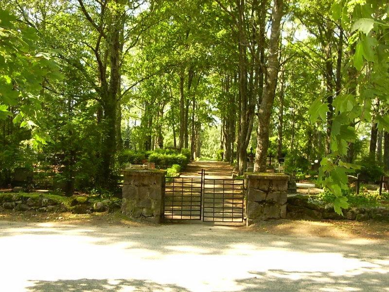 Kalmistu väravad  Autor Sille Raidvere  Kuupäev  06.08.2008