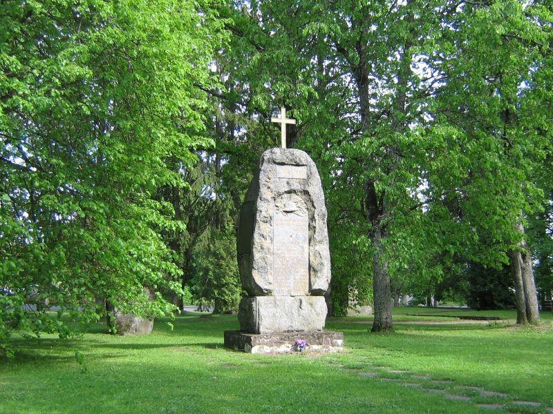 Vabadussõja mälestussammas kanepis  Autor Viktor Lõhmus  Kuupäev  02.09.2008
