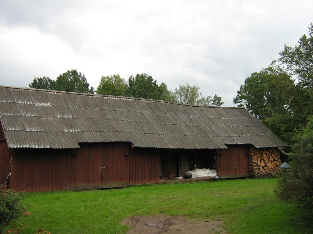 Tätta talu ait-riistakuuri eestvaade Autor Anne Kivi  Kuupäev  18.09.2008