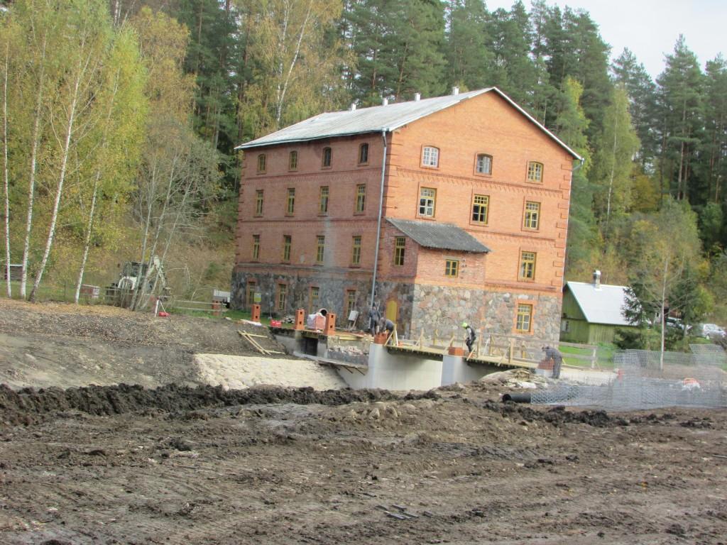 vaade vastaskaldalt kalapääsu ehitamise ajal 07.10.2015 V. Lõhmus