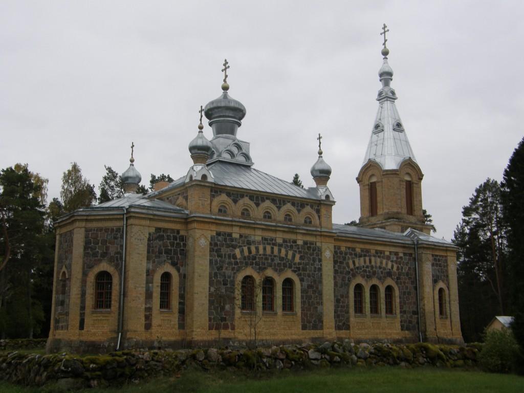 Kuriste õigeusu kirik, vaade kirdest Autor K.Koit Kuupäev 13.10.2015