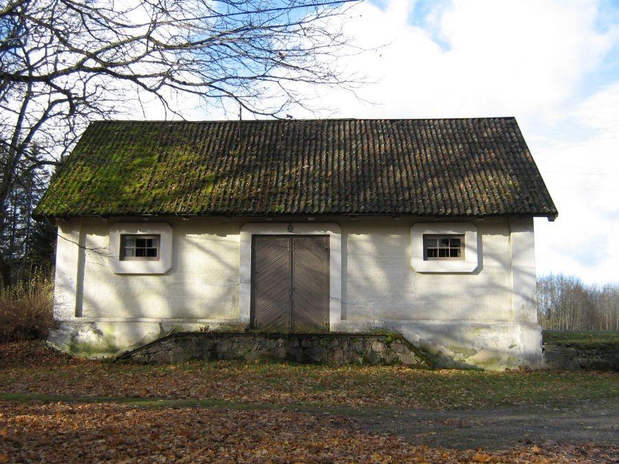 Olustvere raudteejaama abihoone. Autor Anne Kivi  Kuupäev  22.10.2008