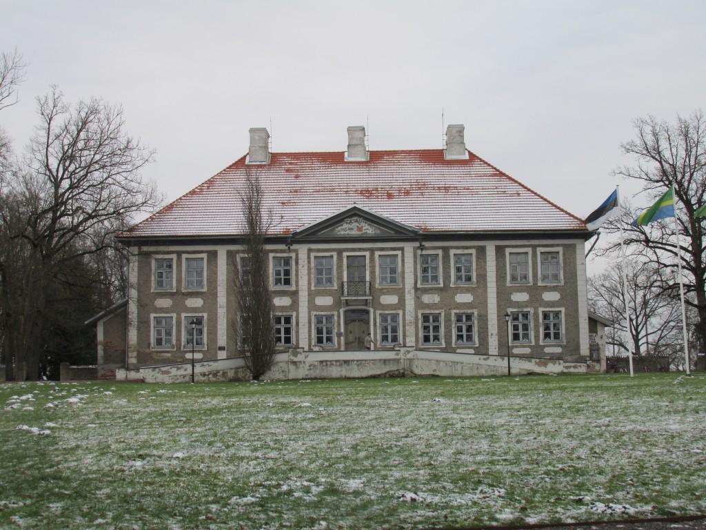 Maidla mõisa peahoone, 1764-1767. Vaade loodest. Foto: Kalle Merilai 25.11.2015.a.