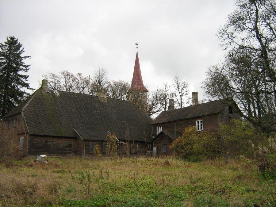 Suure-Jaani pastoraadi peahoone Autor Anne Kivi  Kuupäev  23.10.2008