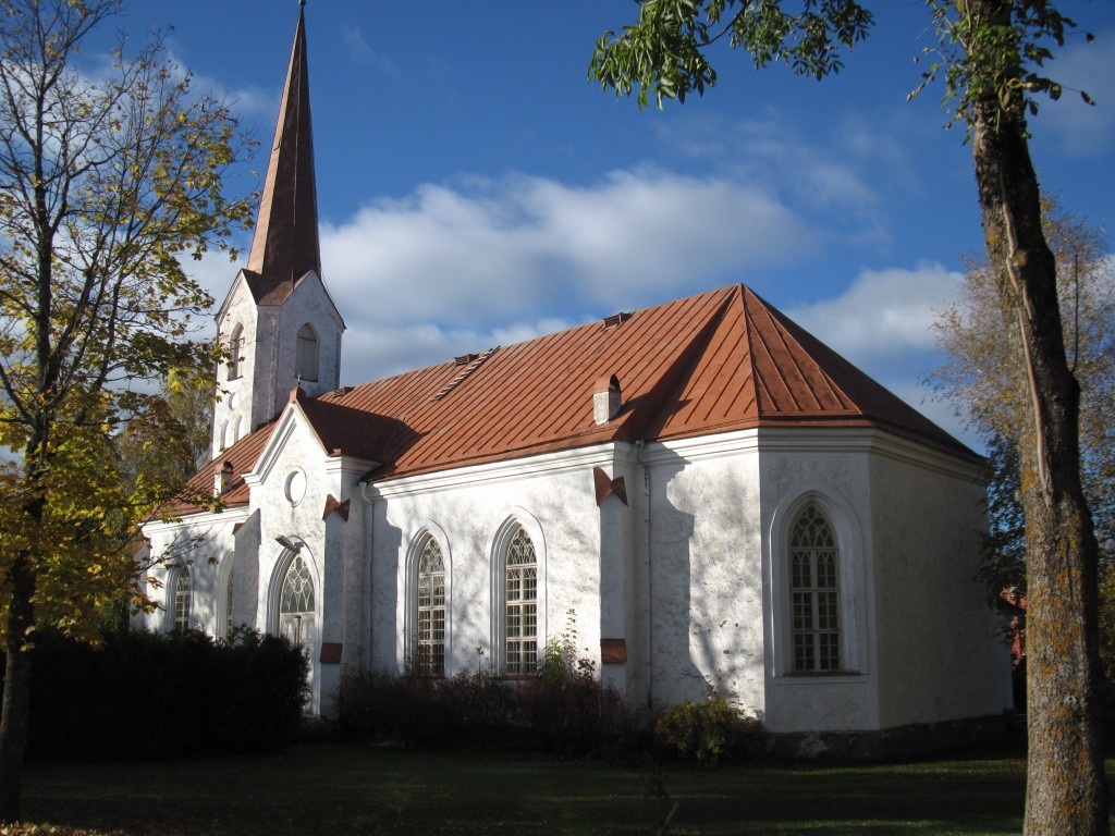 Mustvee kirik Foto: Sille Raidvere Aeg: 14.10.2015